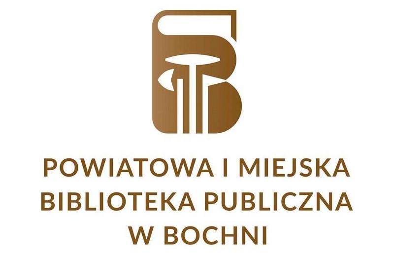 Powiatowa i Miejska Biblioteka Publiczna w Bochni - logo